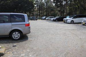 藤沢市少年の森の駐車場
