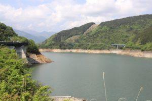宮ケ瀬ダムの景色