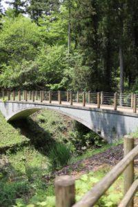 あいかわ公園の散歩道にある橋