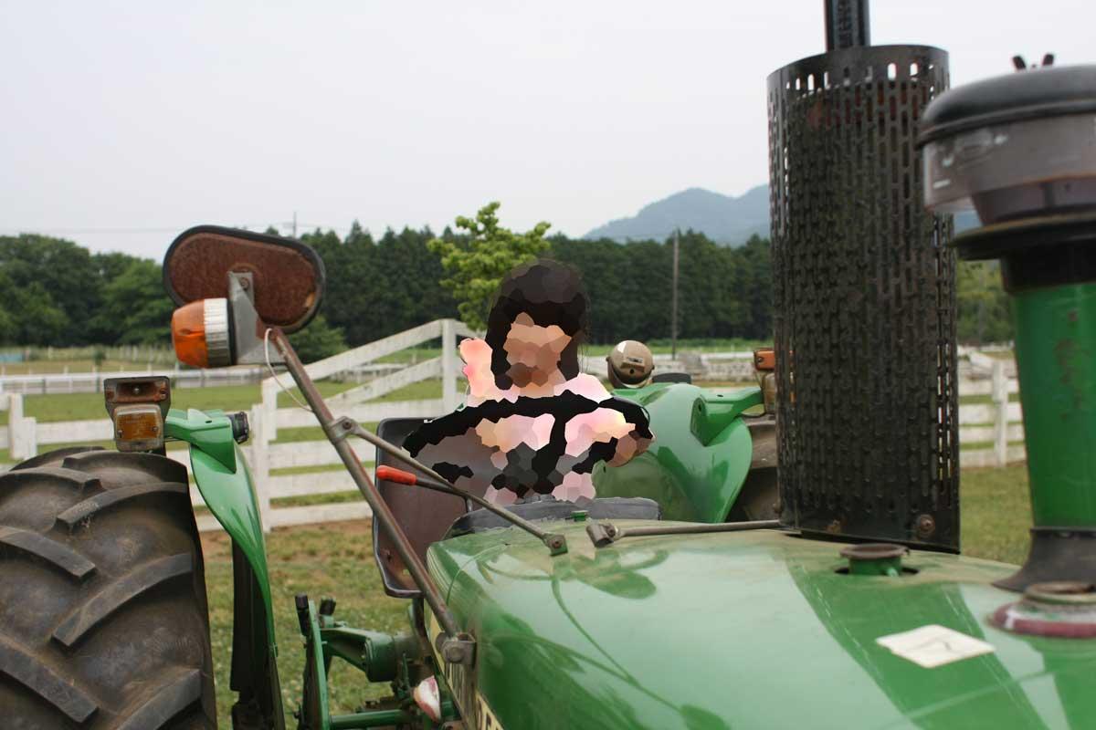 古いトラクター