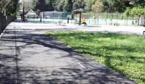 保土ヶ谷公園のテニスコート