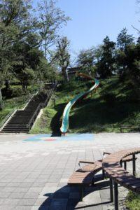 保土ヶ谷公園のすべり台