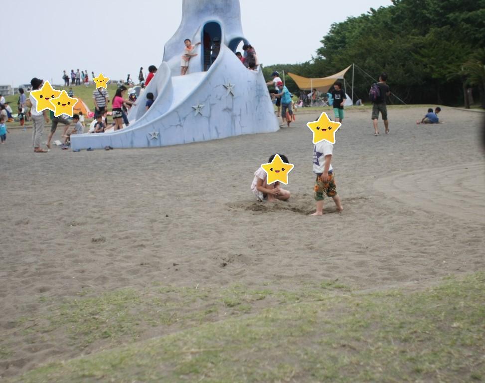 辻堂海浜公園の砂場