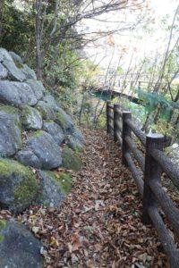 高取山の登山道