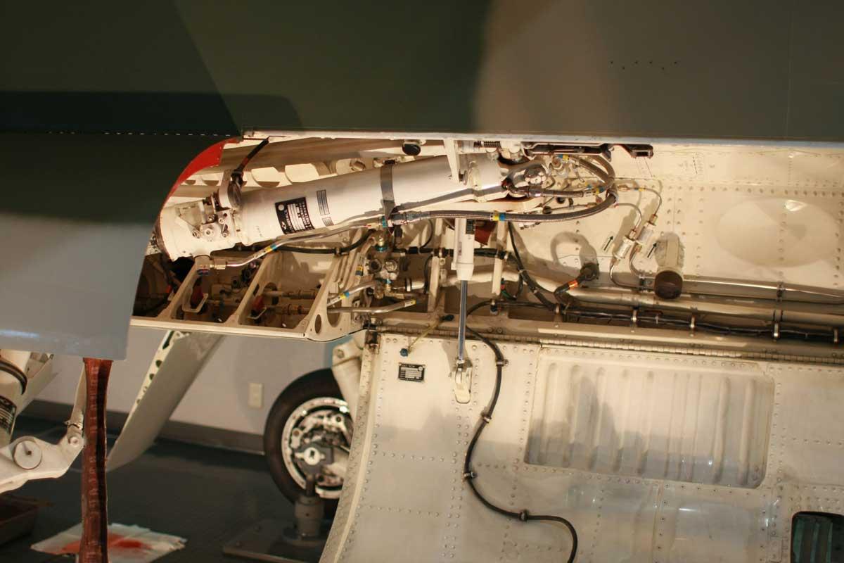 飛行機のエンジン