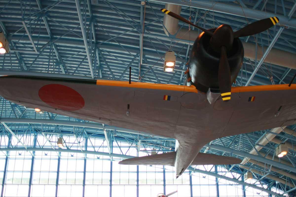 飛行機の展示