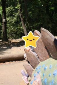 埼玉こども動物自然公園の恐竜