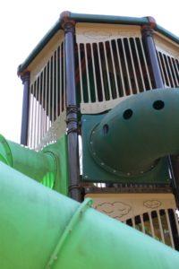 昭和記念公園の複合遊具