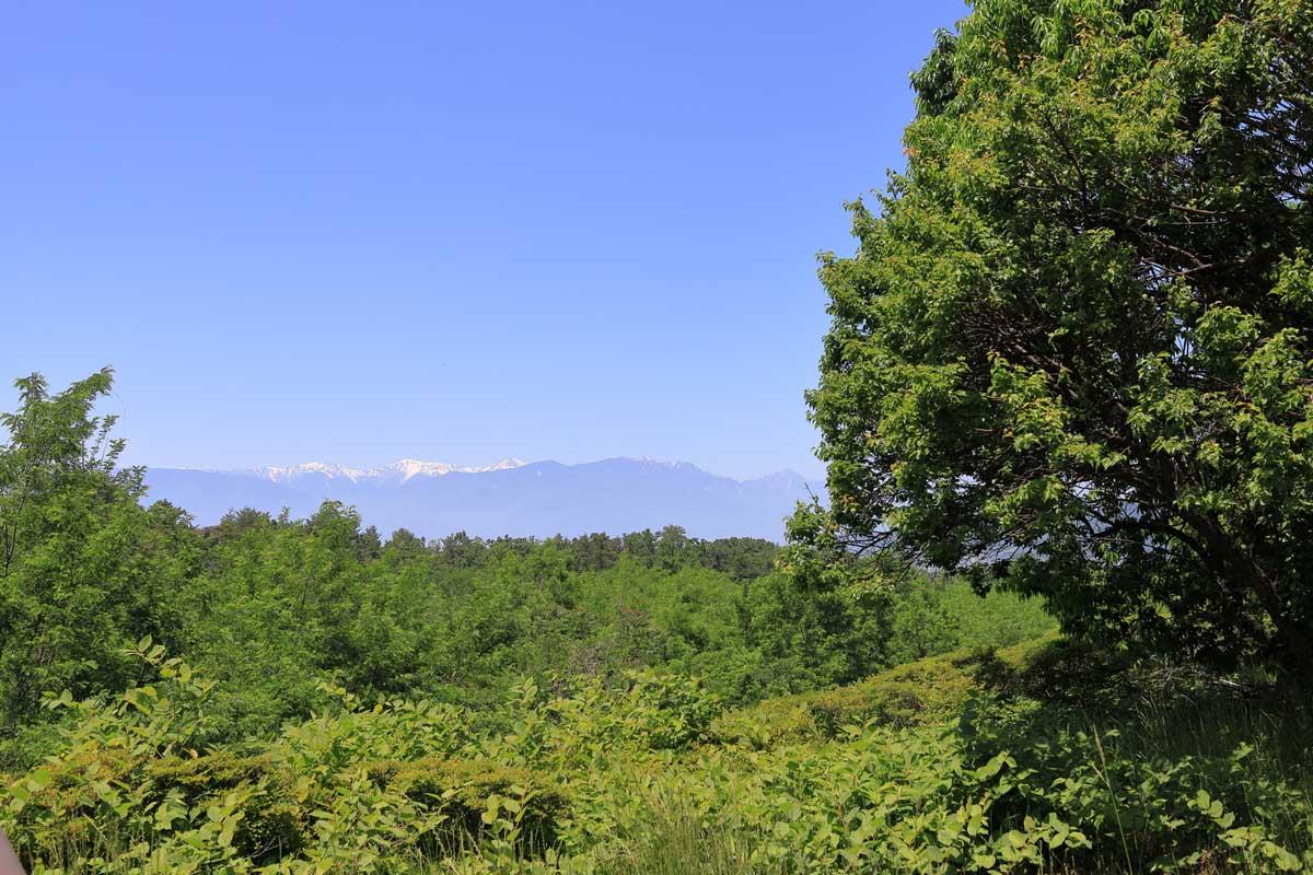 南アルプスの風景