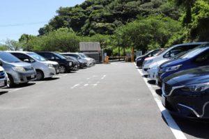 くりはま花の国の第一駐車場