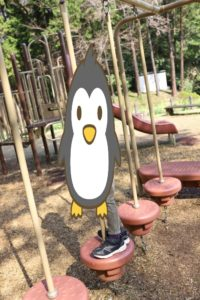 吾妻山公園にある複合遊具