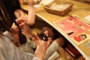 湘南台文化センターのおもちゃの展示