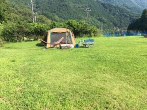 ひだまりの里オートキャンプ場のフリーサイト