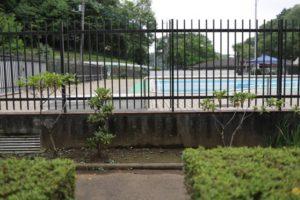 野山北公園のプール