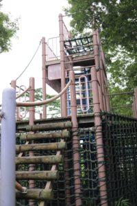 観音崎公園のうみの子とりでにある遊具