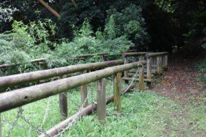 観音崎公園のアスレチック