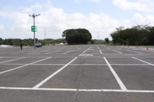成田ゆめ牧場の駐車場