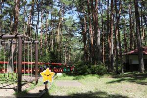 富士すばるランドのSL森林鉄道