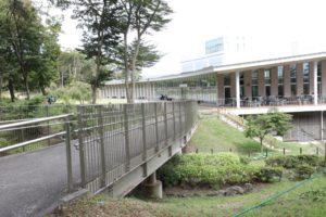 富士樹空の森のレストランのテラス席