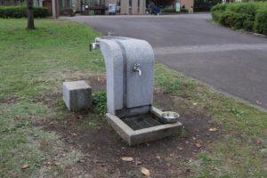 おだわら諏訪の原公園の水飲み場