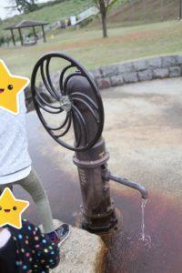 おだわら諏訪の原公園の水遊びエリア