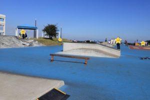 うみかぜ公園のスケートボードコース