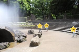 四季の森公園の噴水