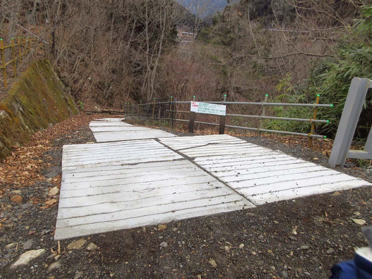 川への入口