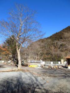 神庭オートキャンプ場から見える景色