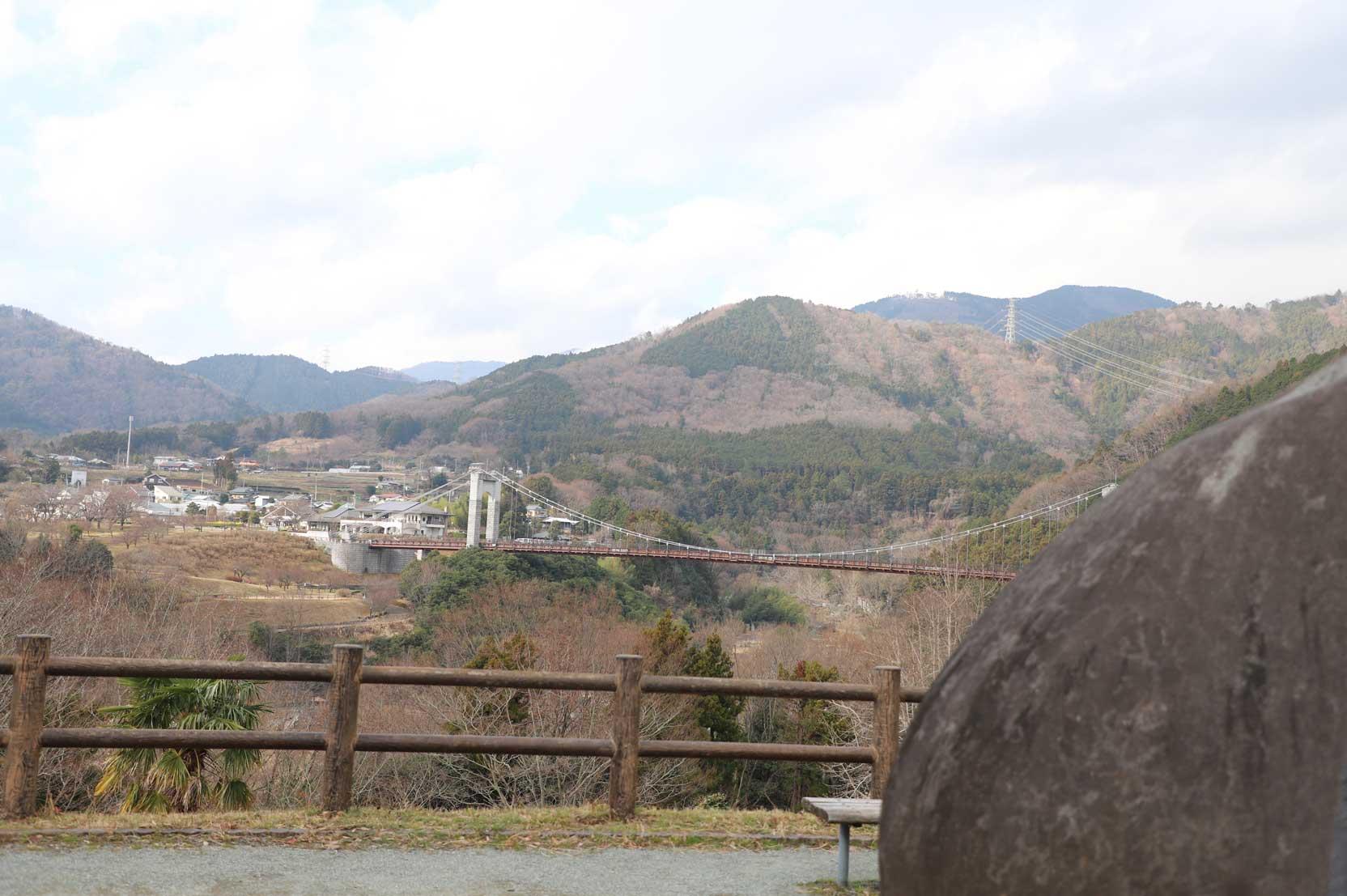 県立秦野戸川公園の景色