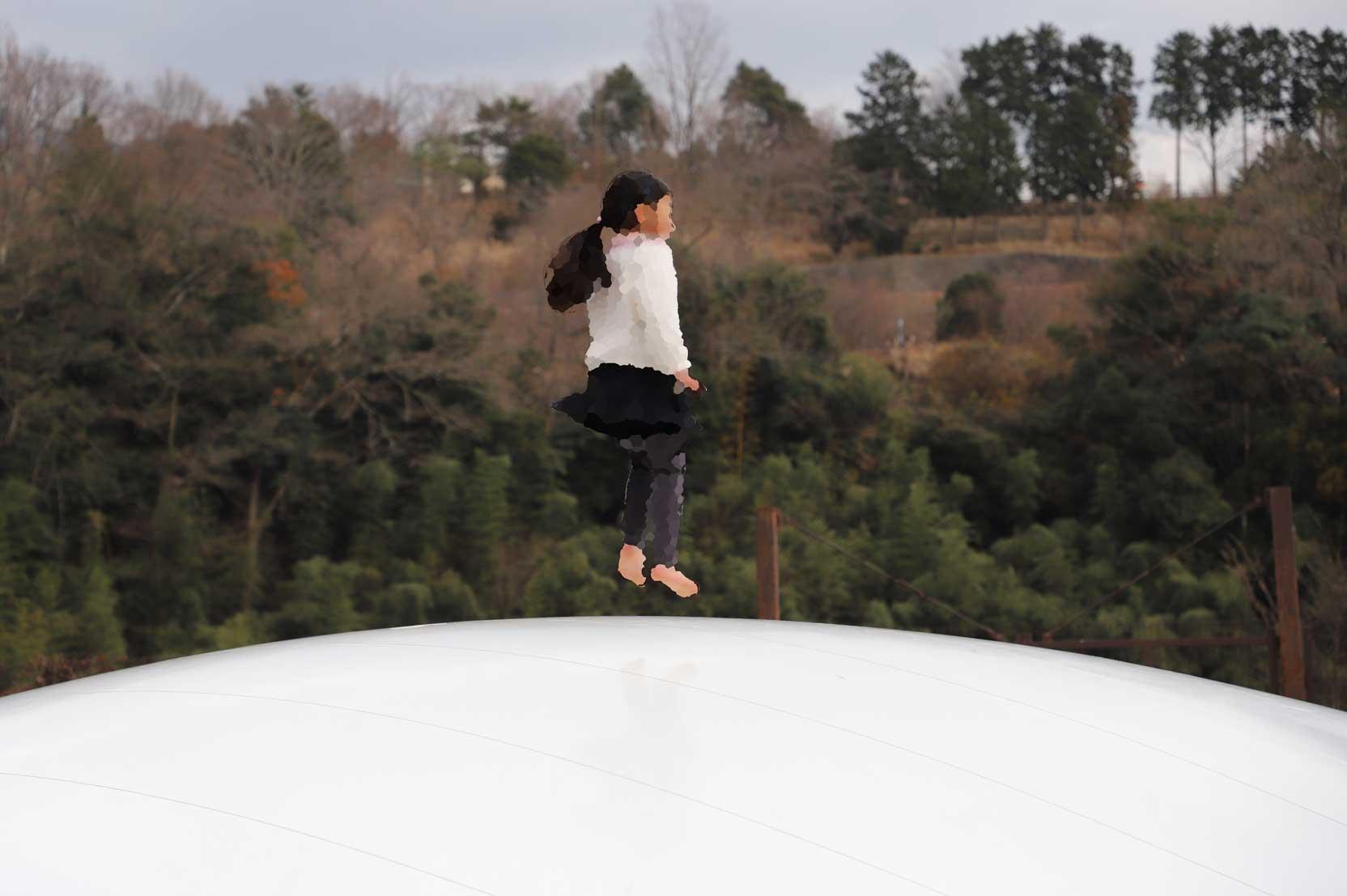 県立秦野戸川公園のふわふわドーム