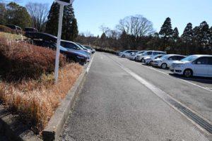 昭和の森の第二駐車場