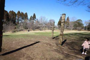 昭和の森のアスレチック