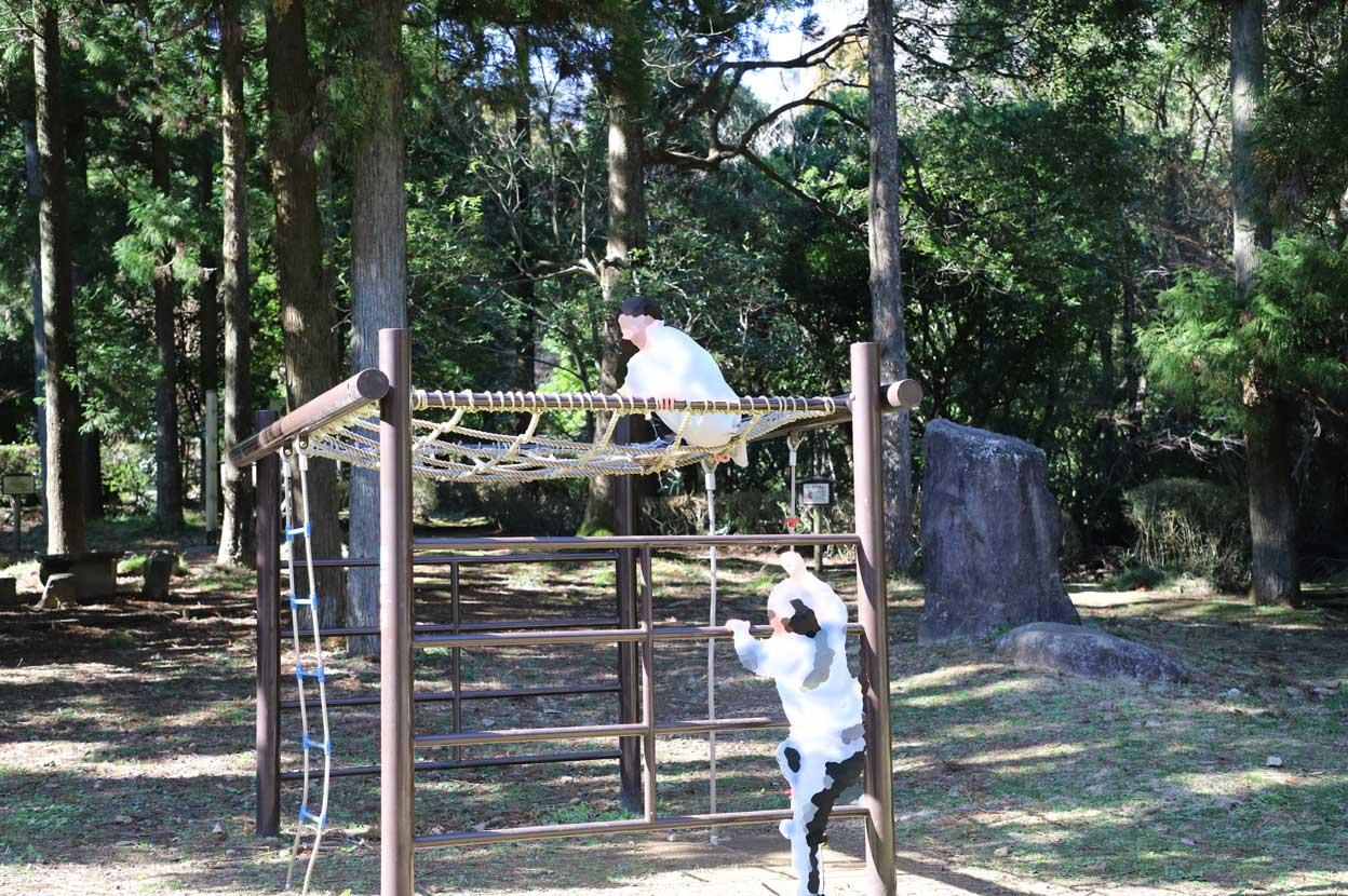 幕山公園のアスレチック