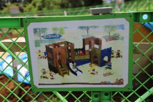 観音崎公園のうみの子とりでにある遊具のリニューアル後のイメージ図