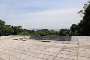 観音崎公園にある戦没船員の碑