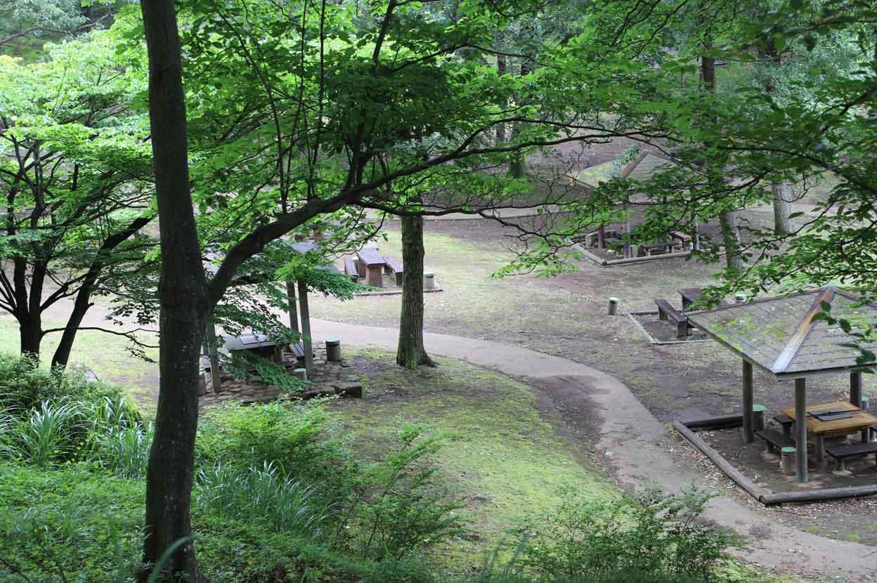 七沢森林公園のBBQ(バーベキュー)場