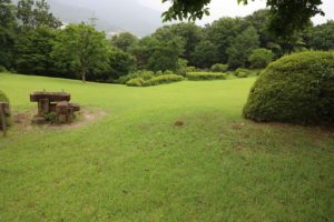 七沢森林公園の芝生広場