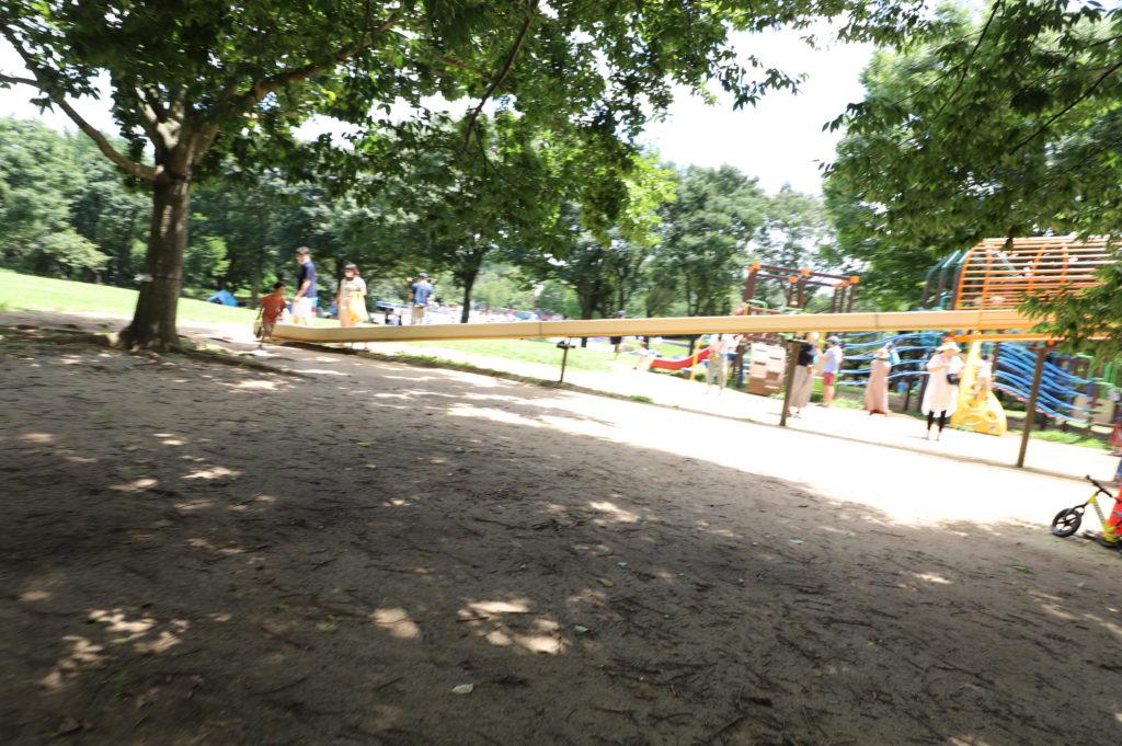 千葉県立青葉の森公園のわんぱく広場にある遊具