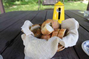 日野水牧場ファームハウスのパン