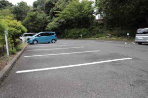 鎌倉中央公園の駐車場