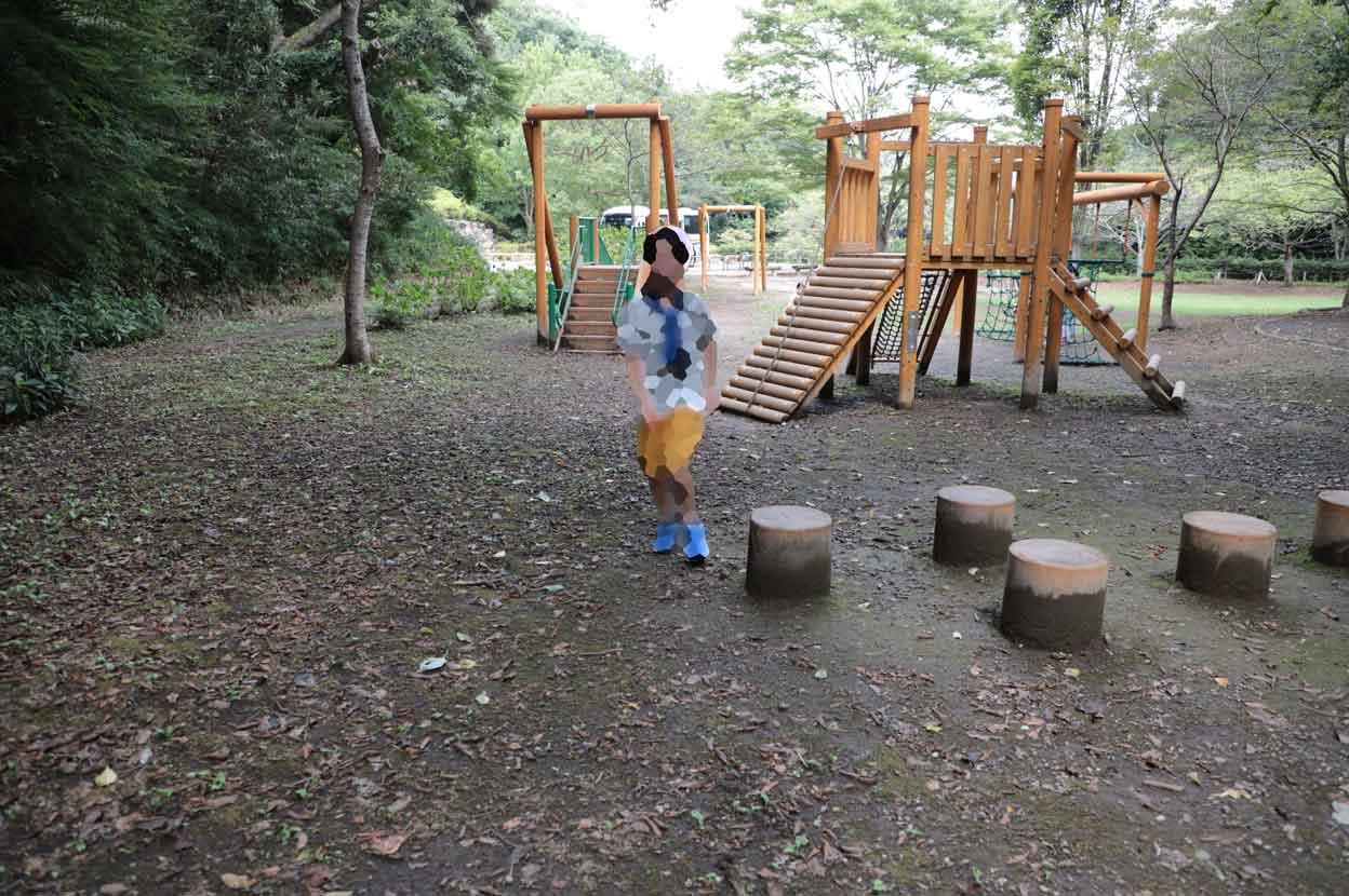 鎌倉中央公園の遊具