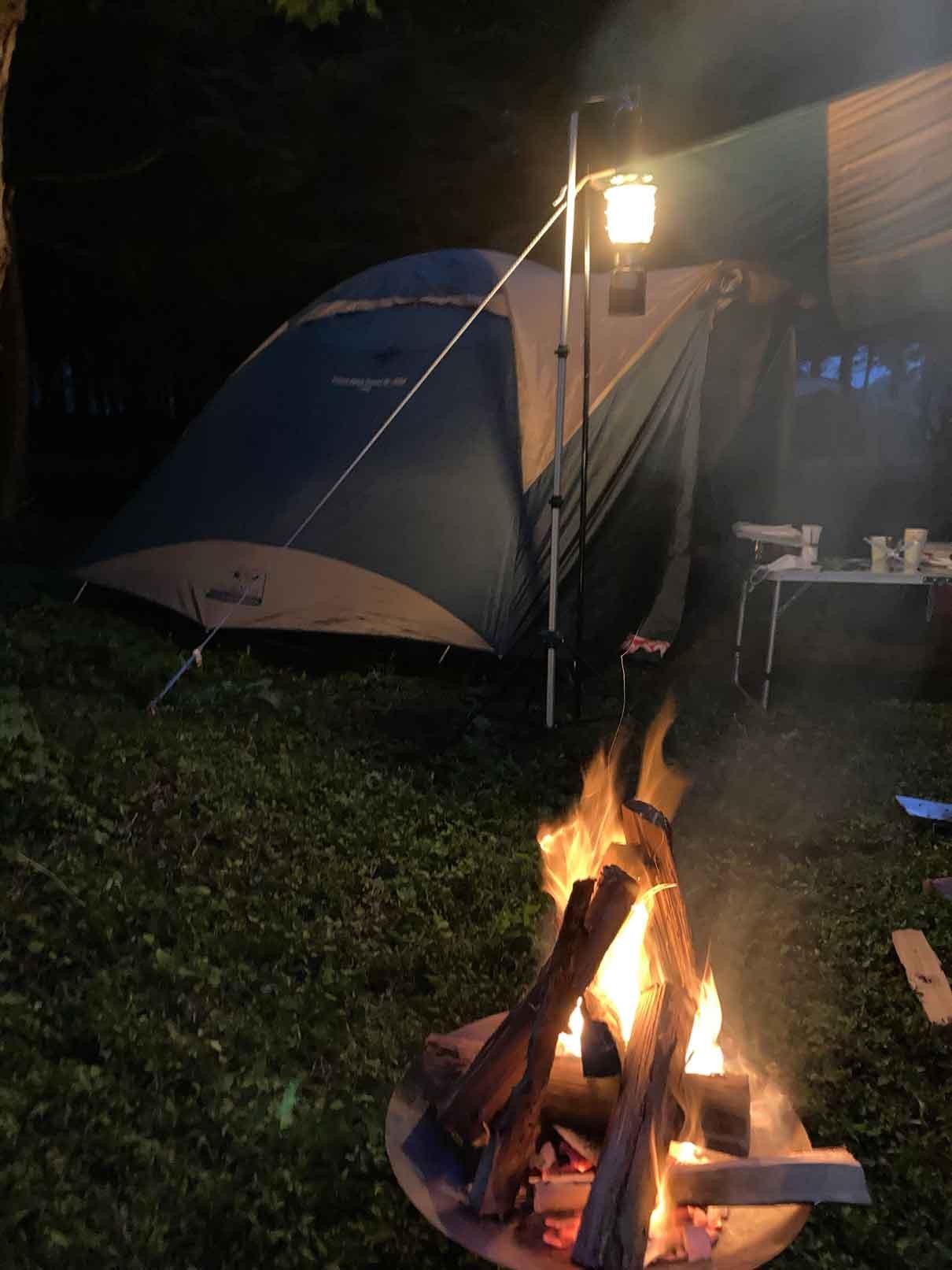 富士山ワイルドアドベンチャーのキャンプサイト