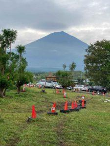 富士山ワイルドアドベンチャーから見える富士山