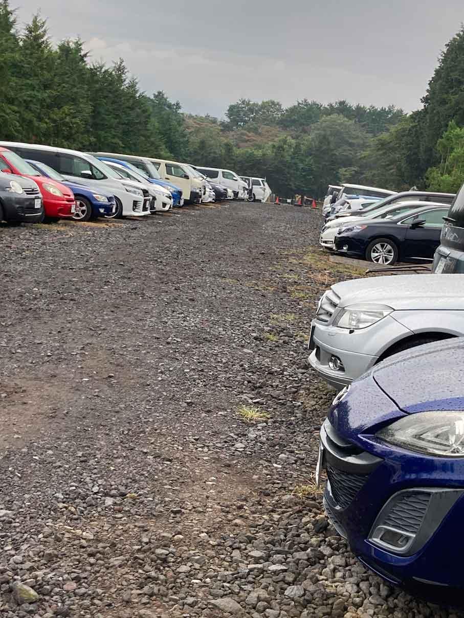 富士山ワイルドアドベンチャーの駐車場