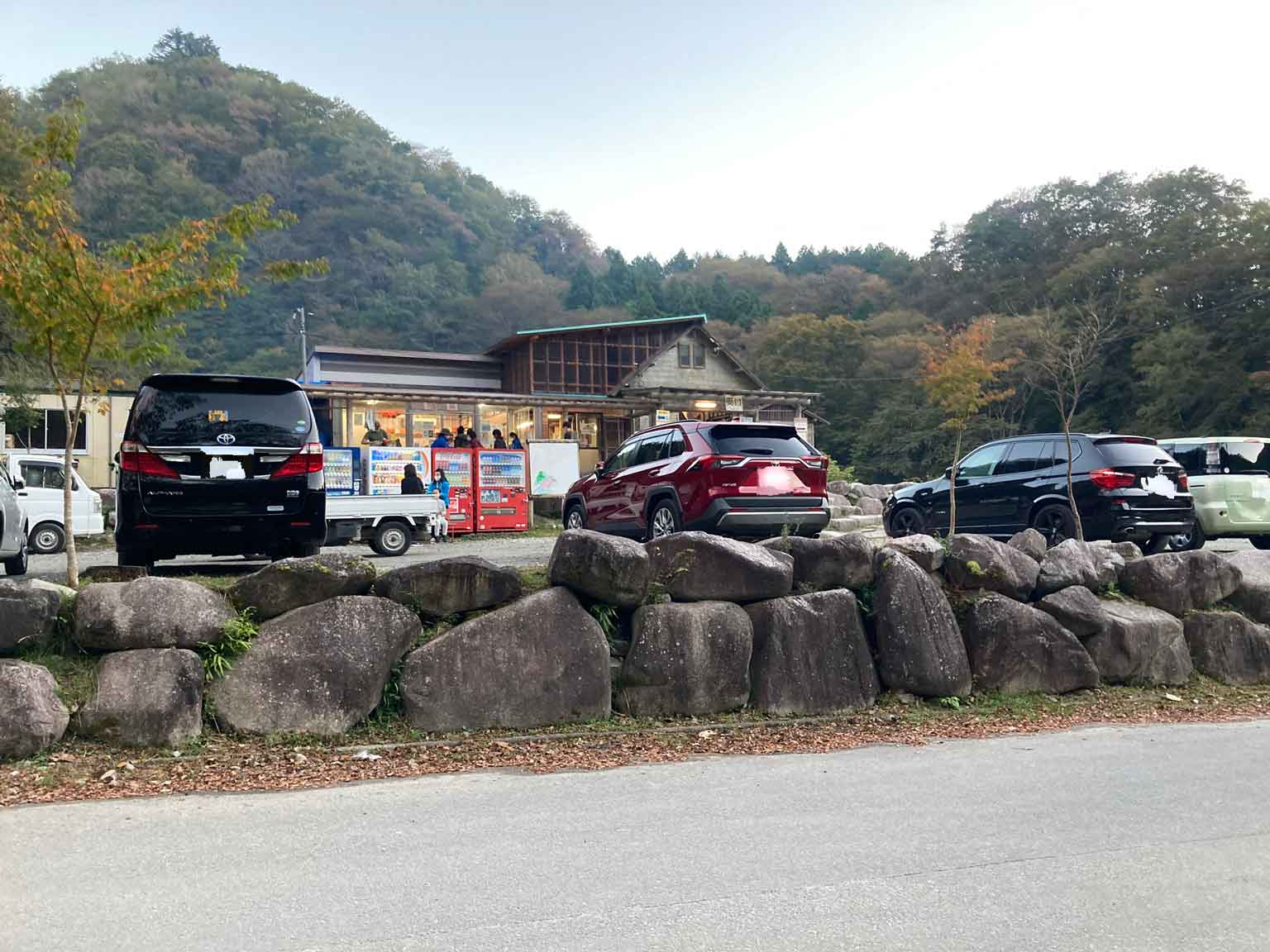 ウェルキャンプ西丹沢キャンプ場の売店