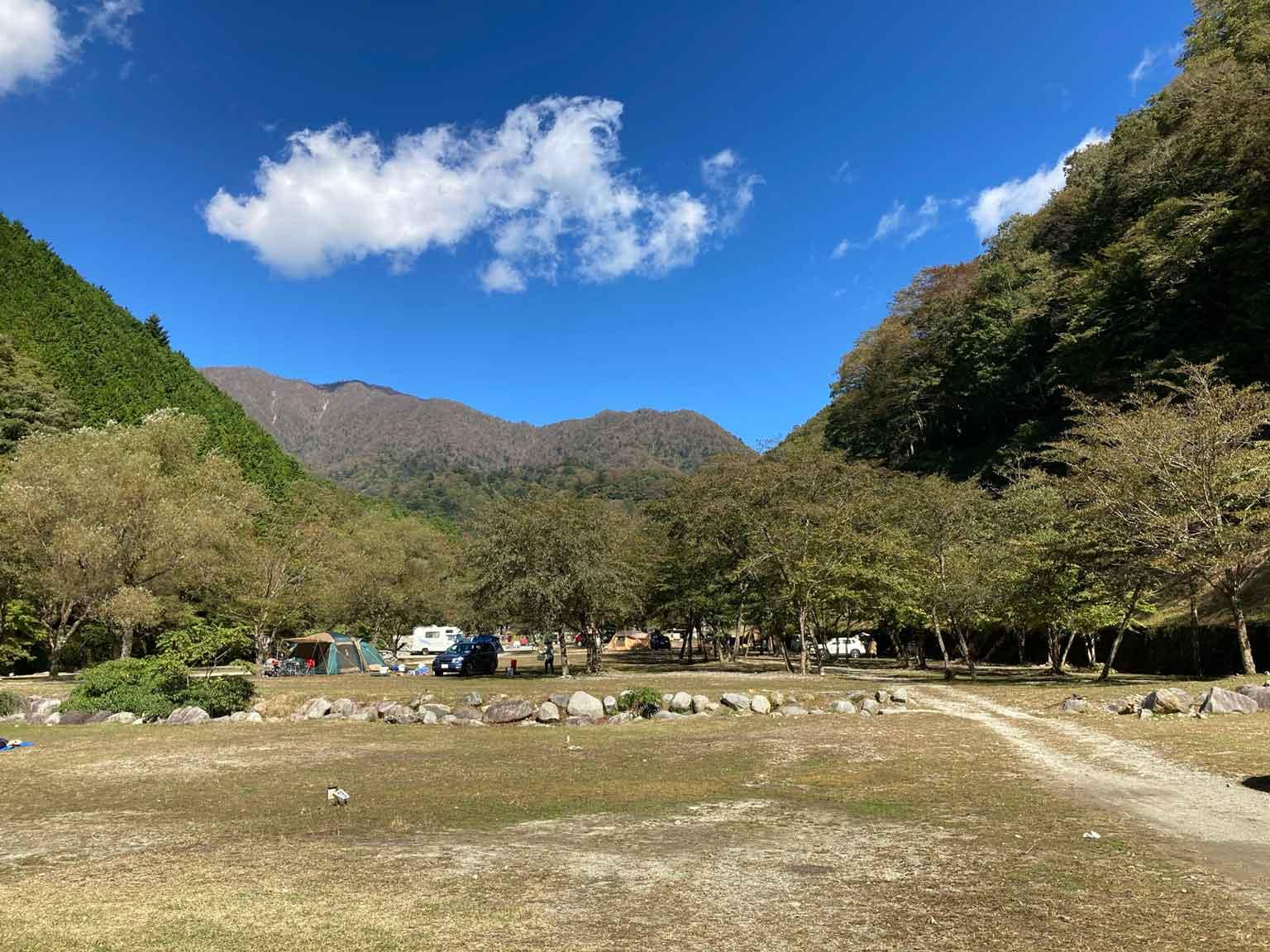 ウェルキャンプ西丹沢キャンプ場