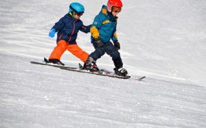スキーの初心者