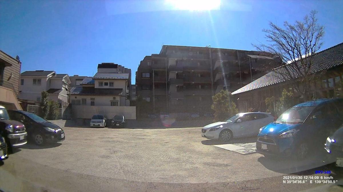 初代鷺沼店の駐車場